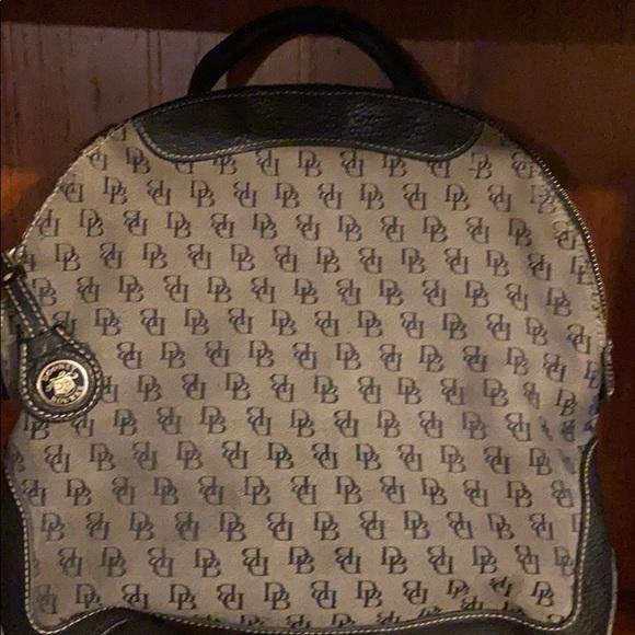 Vintage signature Dooney & Bourke backpack